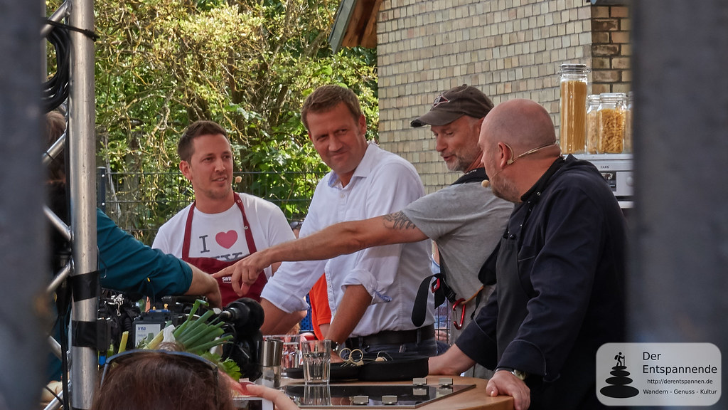 Tom, Jens, Techniker und Frank