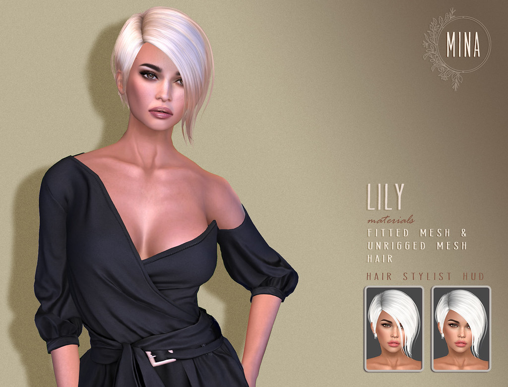 MINA Hair - Lily for Uber - SecondLifeHub.com