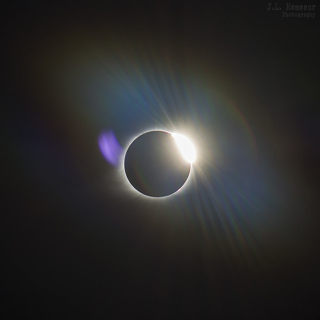 Solar Eclipse - August 21st 2017 - The Diamond Ring