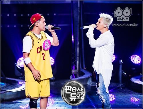 Taeyang Fantastic Duo 2 SBS August 2017 (3)