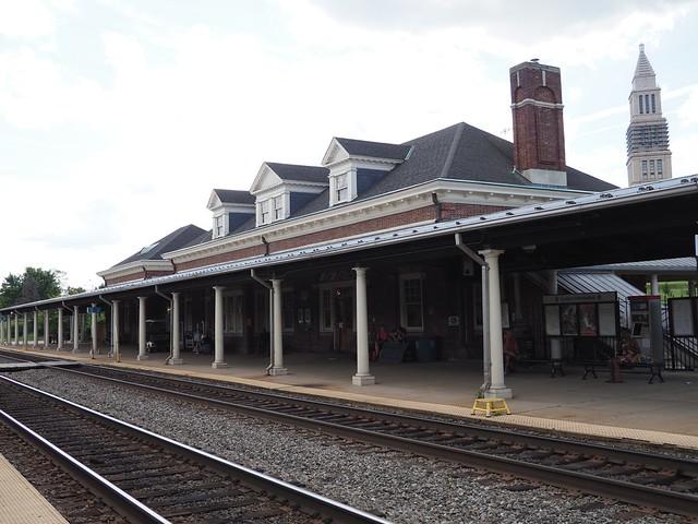 日, 2017-06-25 16:43 - Amtrak Alexandria駅