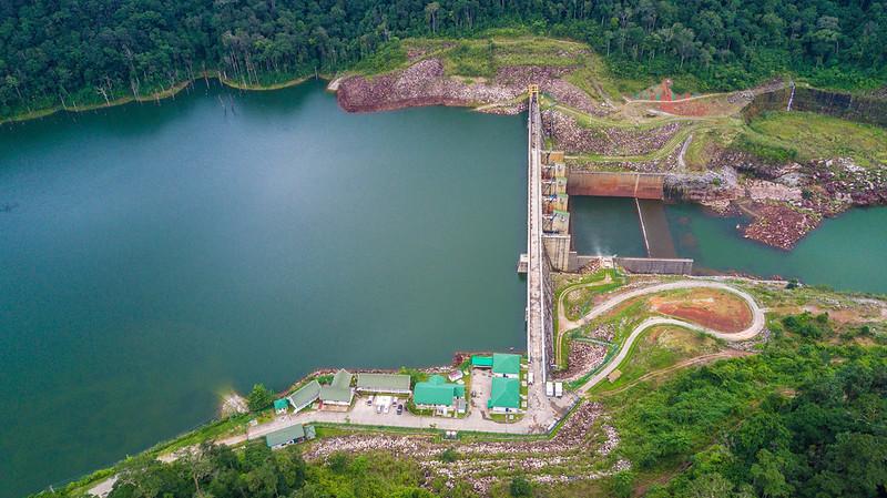 photo of dam in Laos
