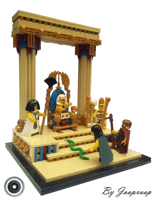 Aaron and Moses visit Pharaoh - The Story of Moses