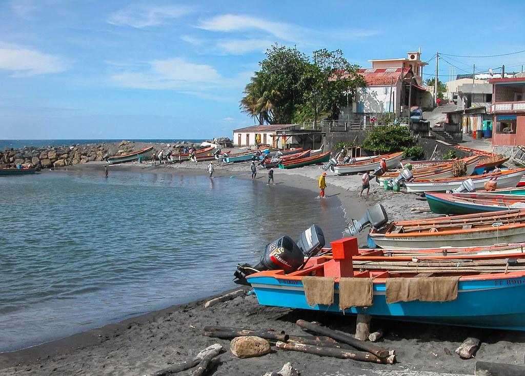 Grand Rivière, petit port 36810600956_ccec23b09b_b