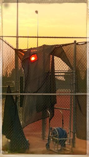 shade material fence chainlink hose garden davemeyer kingsburg sunrise sun