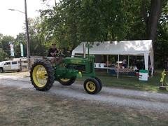 1937 John Deere type A tractor