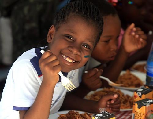Criança Haiti
