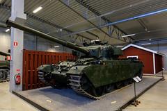 Stridsvagn 101 Centurion at Arsenalen Strängnäs (S)