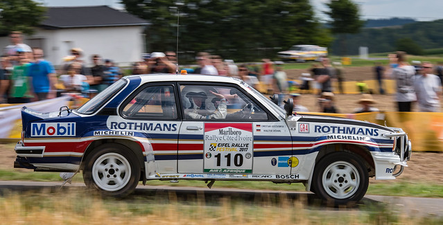 #110 Ralf Antweiler / Peter Milde, Opel Ascona 400 Rallye Elfenbeinküste 1982