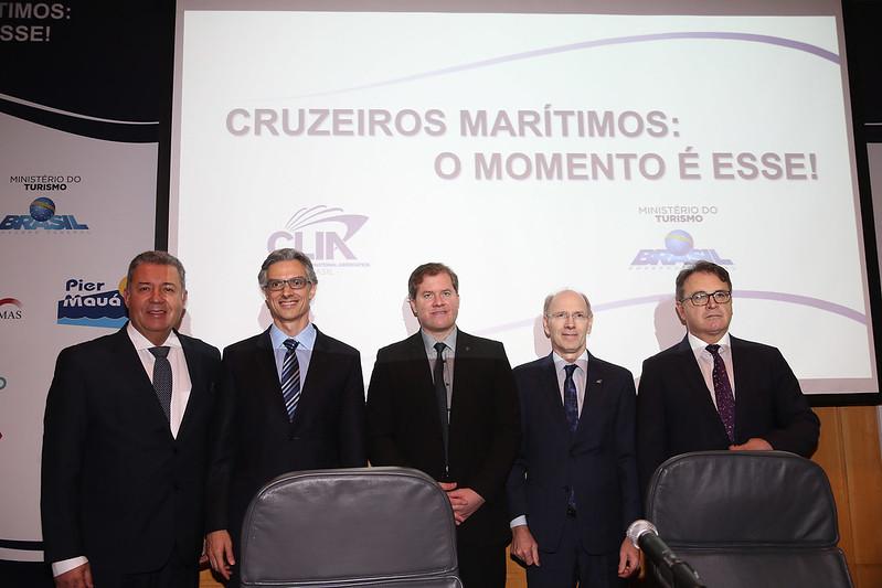 30/08/2017 Seminário Cruzeiro Marítimos - Desafios e Oportunidades do Setor.