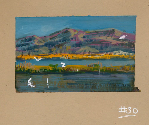 Sketchbook #106: Last of the 30 gouaches.