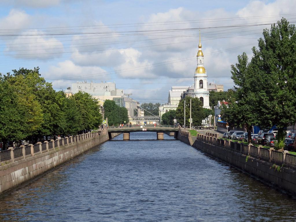 Прогулки по Крюкову каналу.