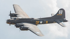 "Boeing B-17 Bomber Painted as ""Memphis Belle"""
