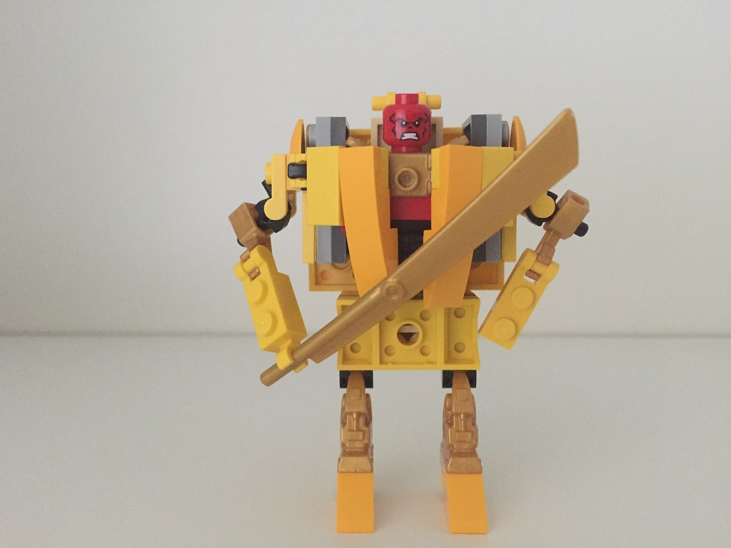 Lego Red King Battle Armor