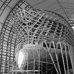 Wooden Skeleton for Fiberglass Ship