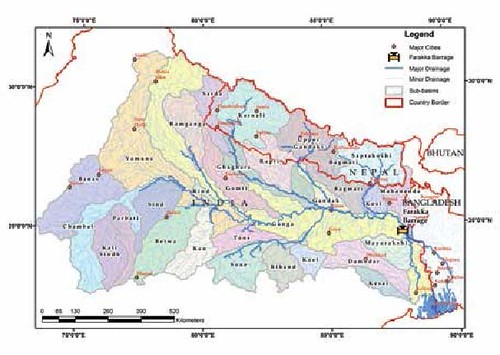 Fig 1 Ganga-Karnali-Ghaghara River Basin