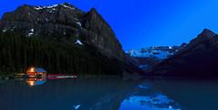 Lake Louise Night