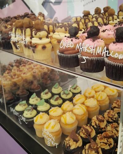 Machomini cupcakes