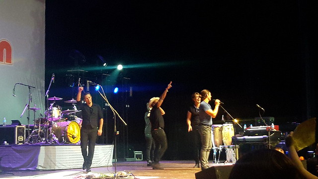 Hanson — Middle of Everywhere Tour in São Paulo, Brazil
