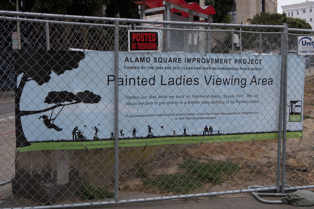 Construction at Painted Ladies Viewing Area