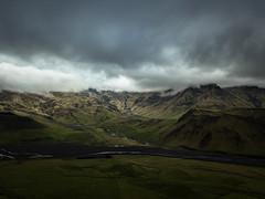 Towards Eyjafjallajökull
