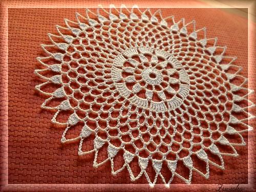 crochet, little doily, terítő , horgolt (2)