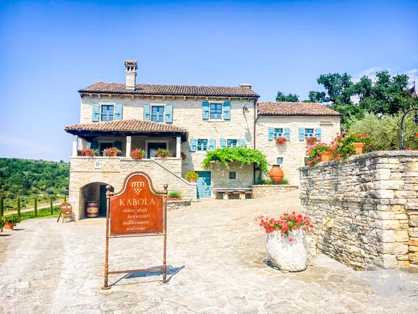 Kabola Winery in Istria Croatia
