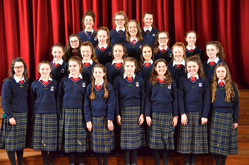 Junior Prefects at St Louis Monaghan