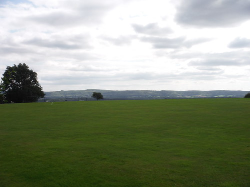 South Downs Views from Upperton Cricket Field