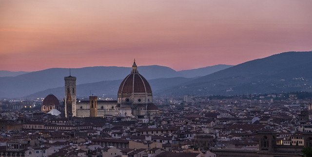 Florence Duomo at dusk