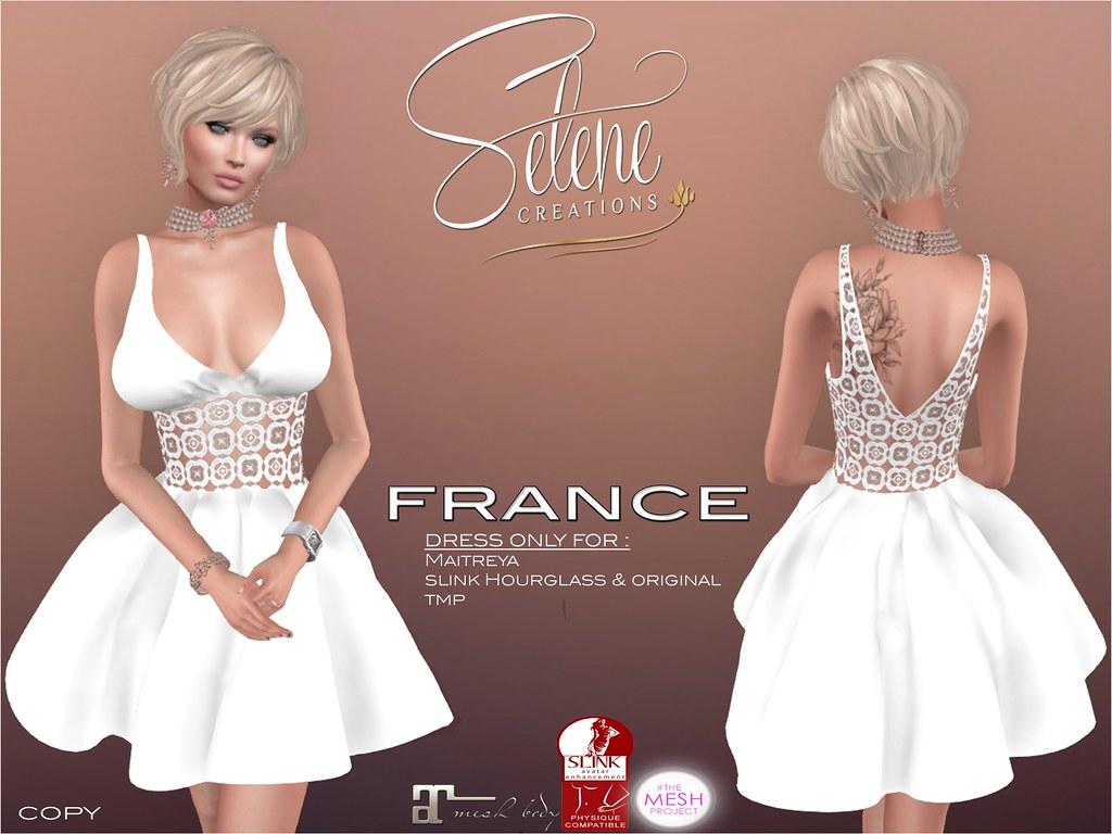 vendor france white - SecondLifeHub.com