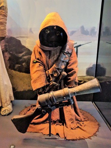 Jawa Costume and Blaster