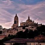 18. August 2017 - 20:45 - Atardecer en Segovia.