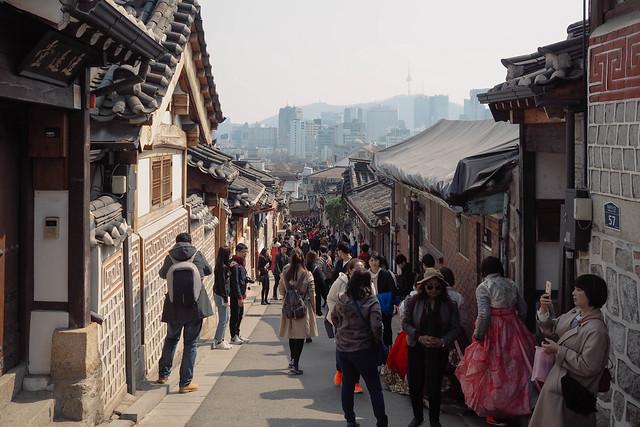 Exploring Bukchon Hanok Village