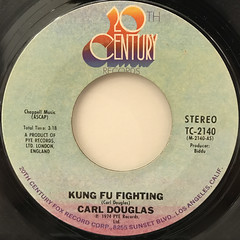 CARL DOUGLAS:KUNG FU FIGHTING(LABEL SIDE-A)