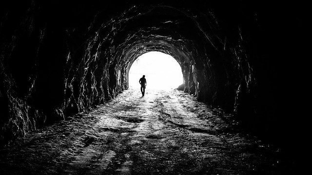 Exploring - Vidraru, Romania - Black and white street photography