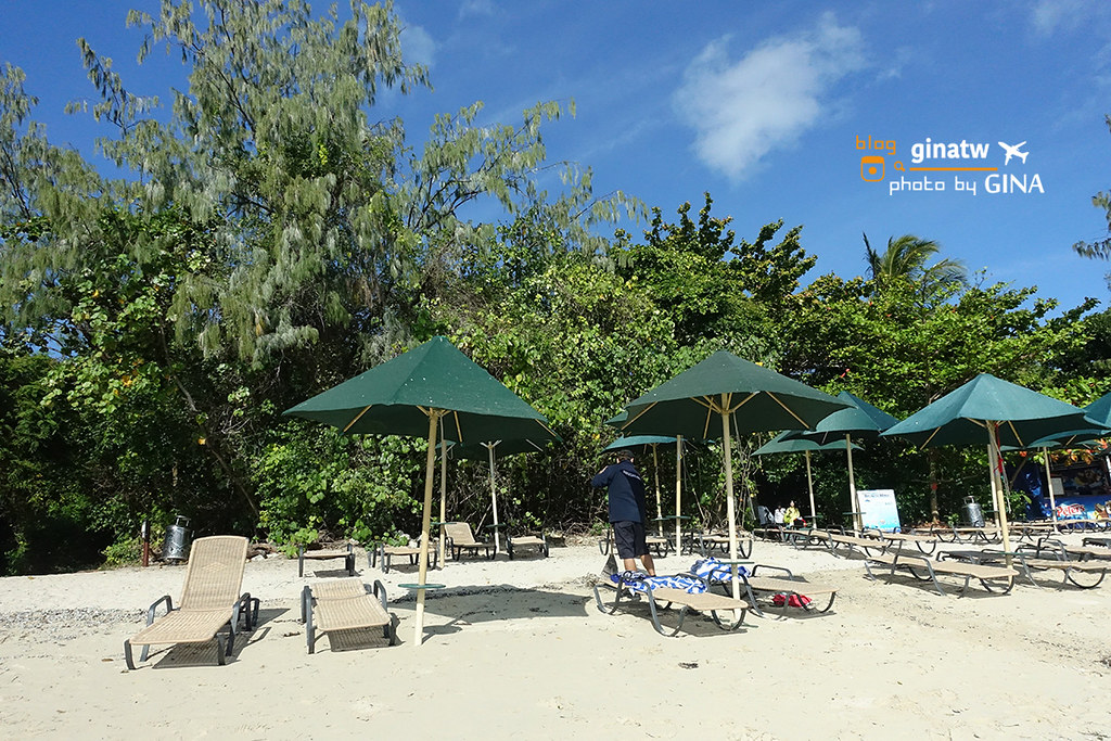 【凱恩斯自由行】大堡礁大冒險號(GREAT ADVENTURES)超級美的外島-澳洲綠島(AU Green Island) 外堡礁(OUTER GREAT BARRIER REEF) @GINA環球旅行生活
