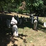 Ottoman gravestones in Sarajevo in Bosnia and Herzegovina