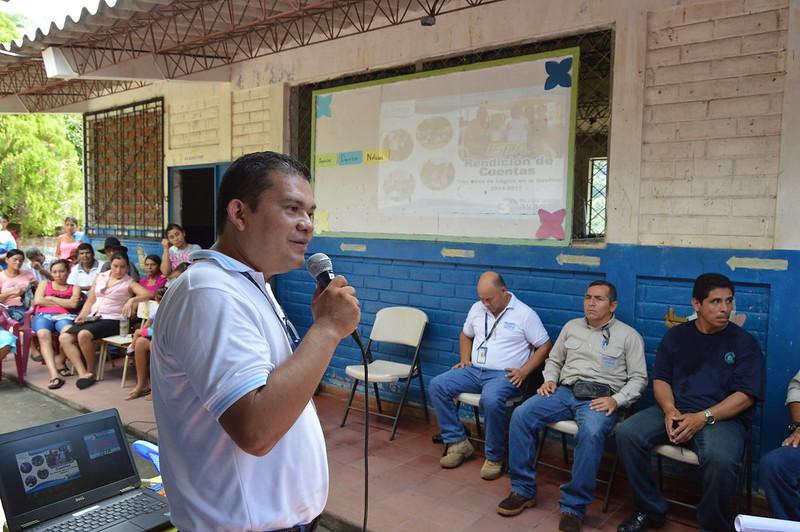 Rendición de Cuentas Territorial en Hda. La Cebadia, Chalatenango