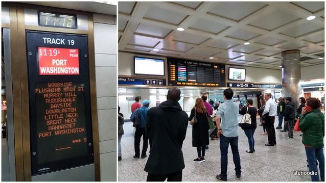 Penn Station travellers