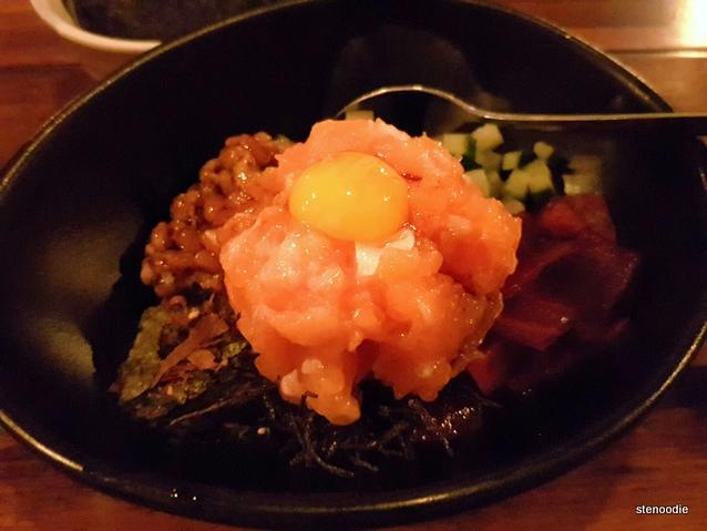Salmon Natto