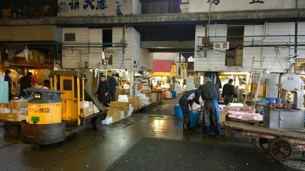 Tokio | Tsukijin kalatori