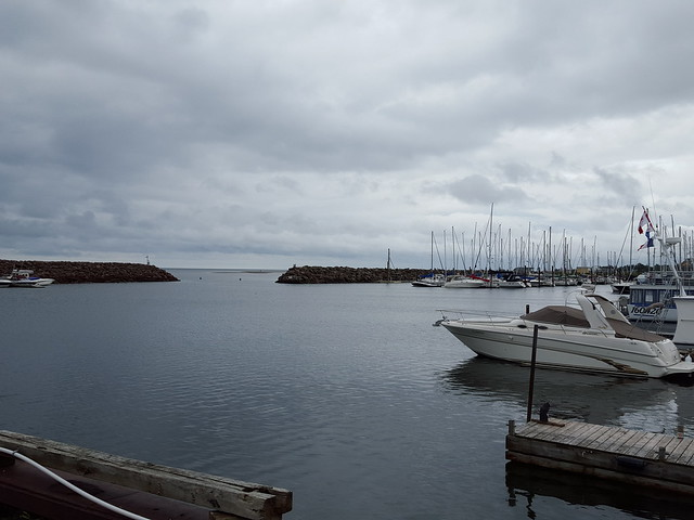 Pointe-du-Chêne Wharf. From Visiting the Lobster Capital of the World