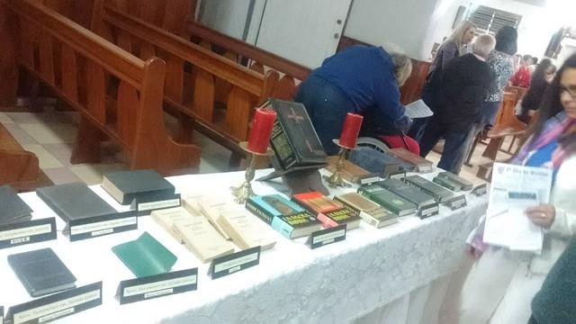 04 09 2017 Exposição bíblica na Matriz de São Judas em Teresópolis
