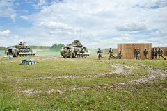 Combined Arms Live Fire Exercise - Grafenwoehr