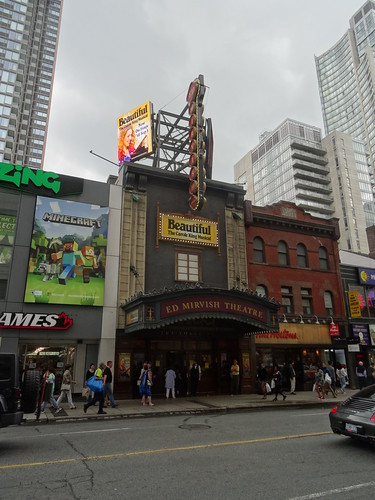 Facade of the the Ed Mirvish Theatre, 2017 08 05 -a