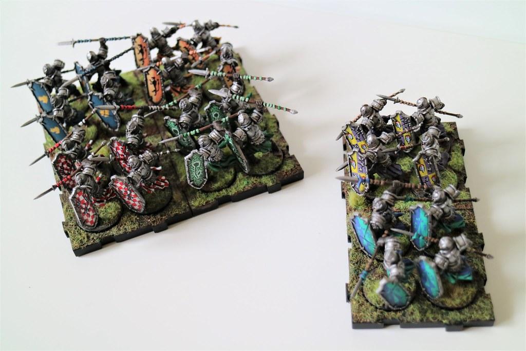 Runewars Miniatures Daqan Infantry