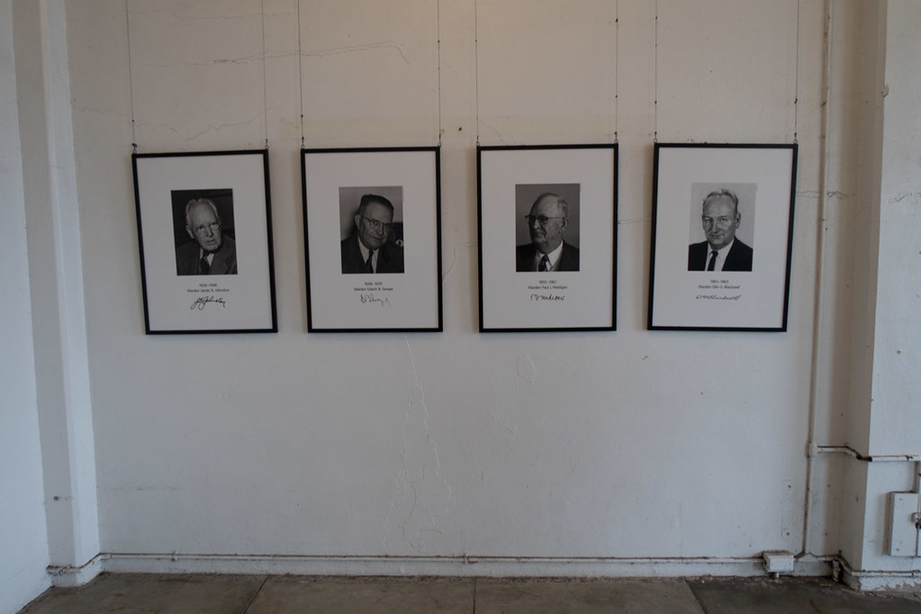 Photographs of former Alcatraz Prison Wardens