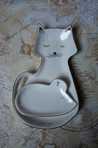 Cat and mouse dish