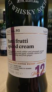 SMWS 64.93 - Tutti frutti spiced cream
